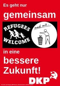 Bildergebnis für DKP Flüchtlinge