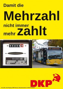 Plakat-Mehrzahl